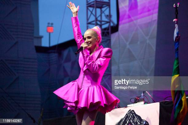 Poppy performs onstage during Ladyland Festival at Avant Gardner on June 29, 2019 in Brooklyn, New York.