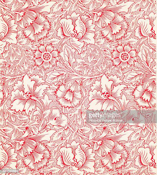 Poppy Wallpaper by William Morris