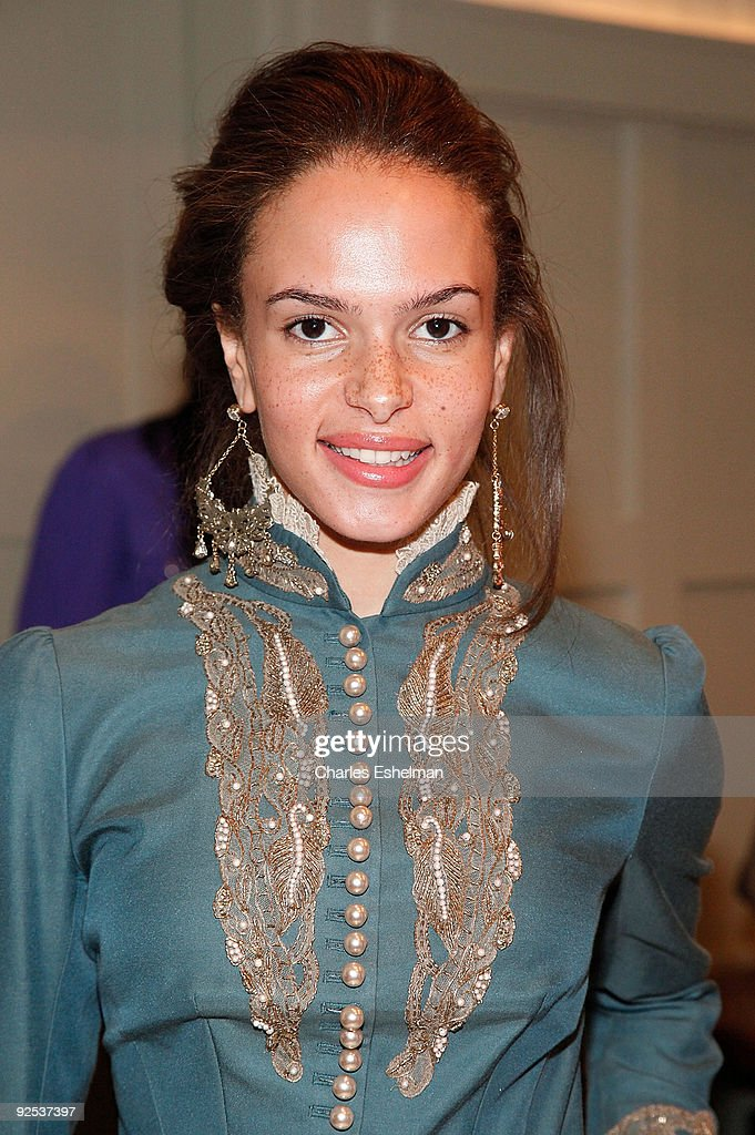 Pop/R&B singer Alex Young attends the Domenico Vacca Spring 2010 presentation at the Soho House on September 12, 2009 in New York City.