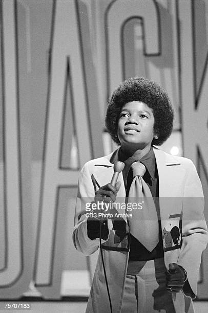 Popular American singer Michael Jackson performs on an episode of the 'The Sonny & Cher Comedy Hour,' July 28, 1972.