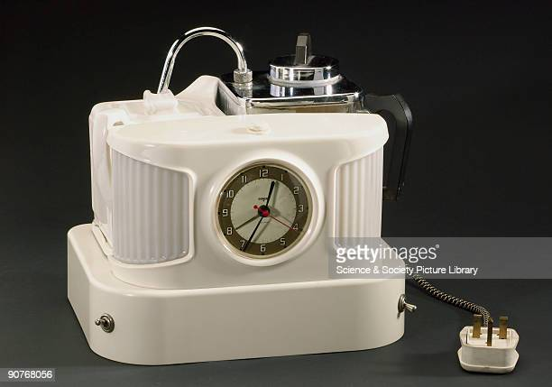 Popular at home in hotels and as a classic 1960s TV quiz show prize the model D25B boiled the water set off the alarm switched on the light and...