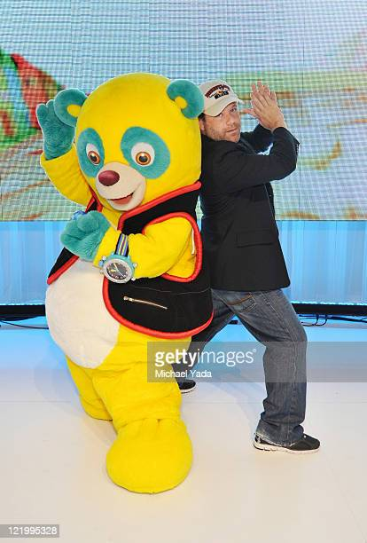 D23 EXPO Popular character Special Agent Oso and the voice of Oso Sean Astin from Disney Junior's 'Special Agent Oso' meets fans at Disney's D23 Expo...