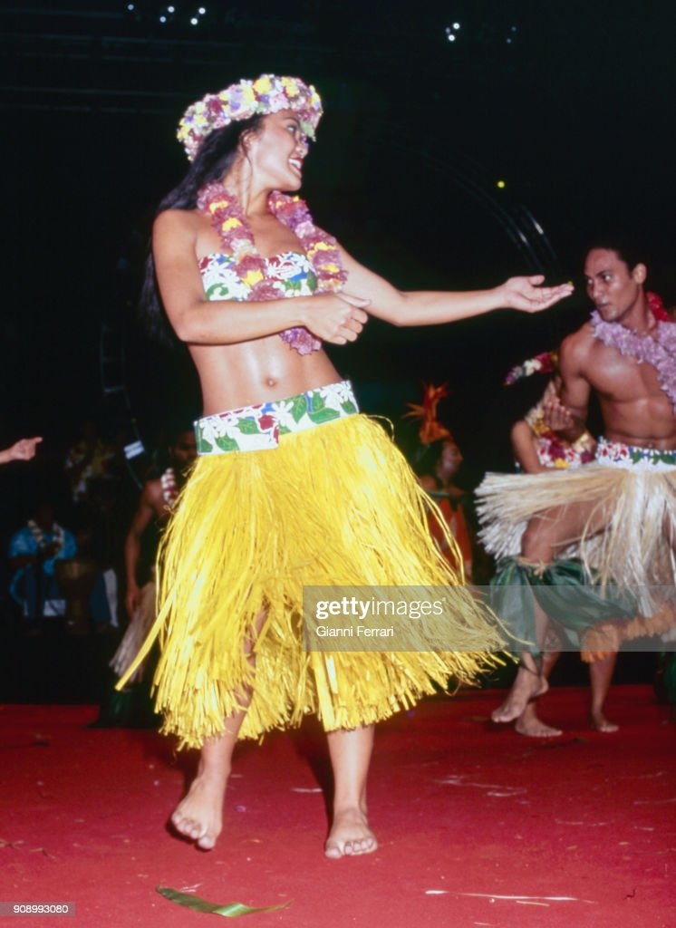 Popular dances Papeete, Tahiti, French Polynesia  News Photo