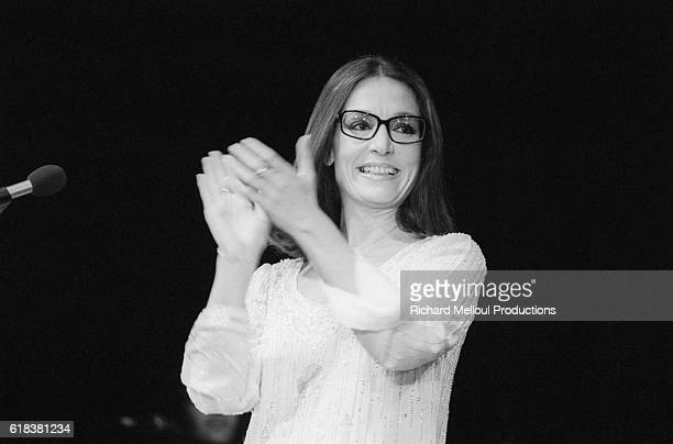 Popular Greek singer Nana Mouskouri offered her fans a first chance opportunity to see her performance at the Olympia Hall Many stars attended the...