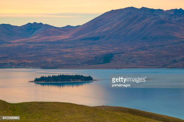 Popular spectacular view of south island New Zealand