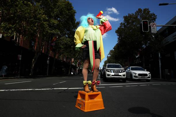 AUS: Sydney Performers Prepare Ahead Of Mardi Gras 2021