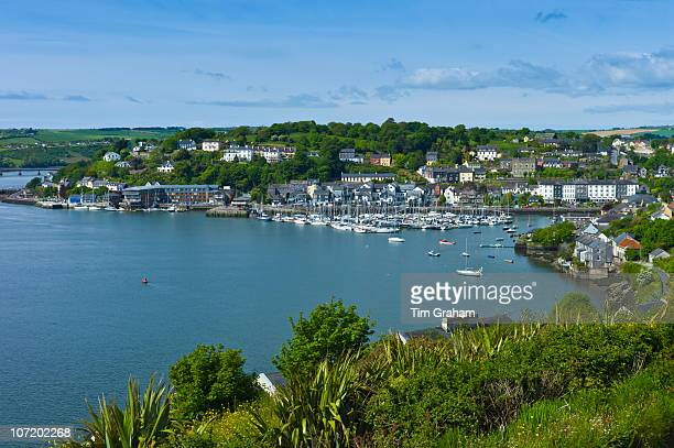 Popular tourist destination Kinsale harbour from Scilly County Cork Ireland
