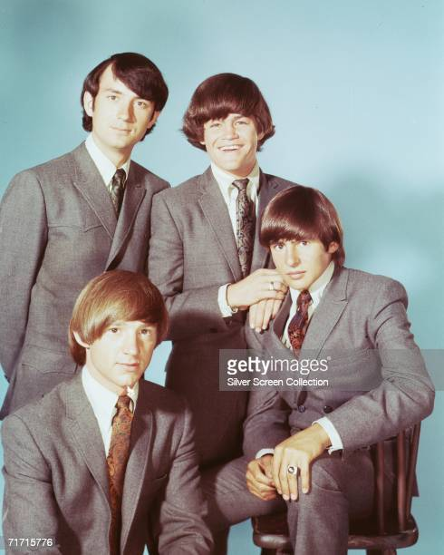 Popular TV actors and pop singers The Monkees circa 1965 Clockwise from top left they are Mike Nesmith Micky Dolenz Davy Jones and Peter Tork