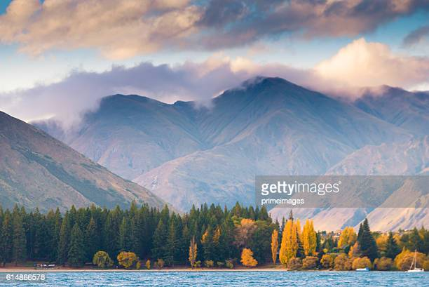 Popular view of wanaka in new zealand