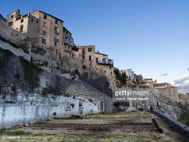 I populate of Bocairent, historical artistic set.