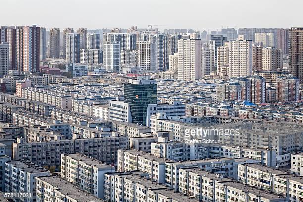Population growth China dense development area