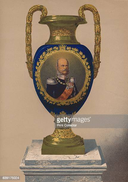 Porcelain Vase' 1863 Gifts presented to Alexandra of Denmark on the occasion of her marriage to the future Edward VII Edward VII married Alexandra of...