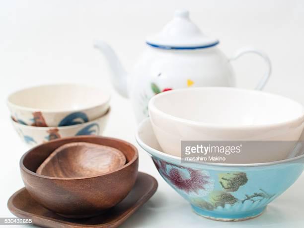 Porcelains and Woodworks
