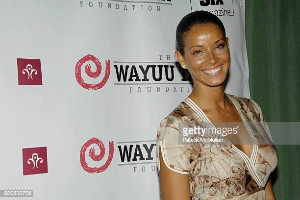 Porcha Coleman attends The Fifth Annual WAYAUU TAYA FOUNDATION Gala Dinner at The Bowery Hotel on June 5, 2008 in New York City.