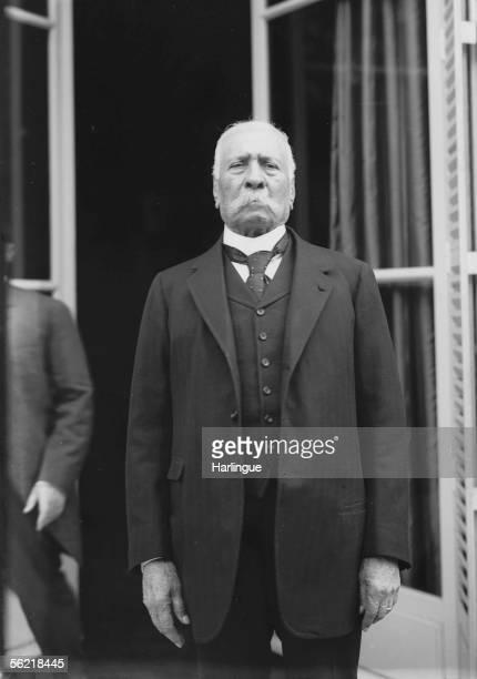 Porfirio Diaz Mexican statesman in exile in Paris
