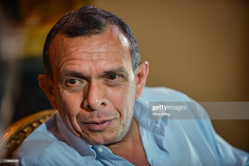 Honduran President Porfirio Lobo Interview : News Photo