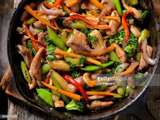 豚肉と野菜の炒め