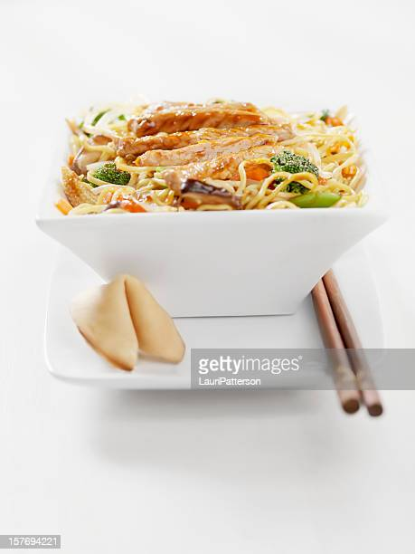 Pork and Vegetable Stirfry with Noodles