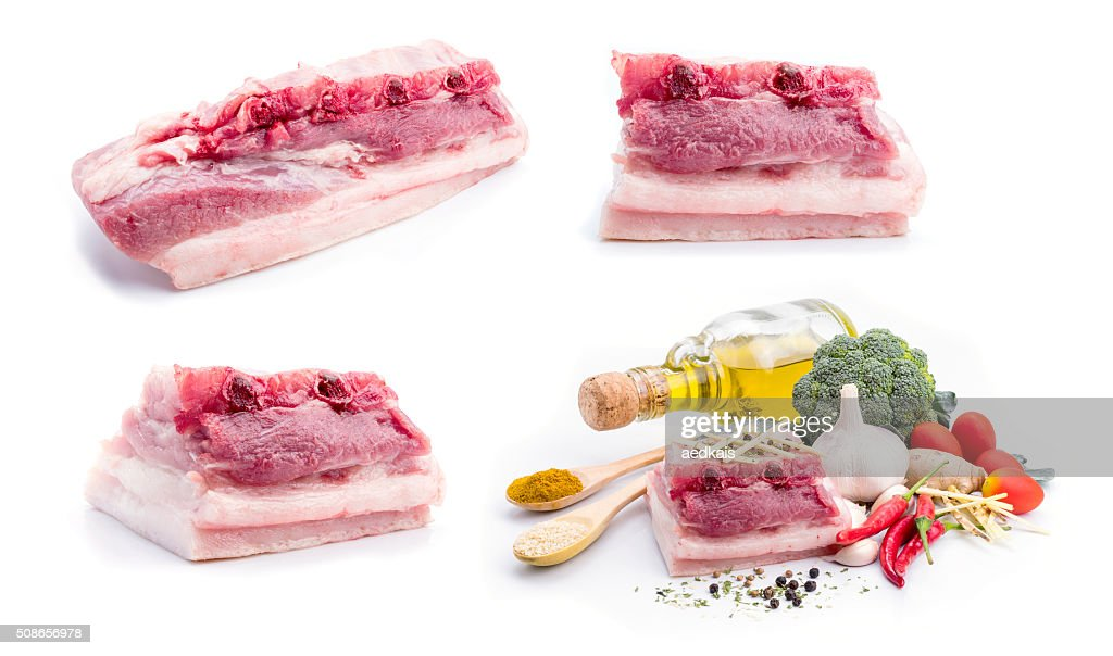 Pork belly : Stock Photo