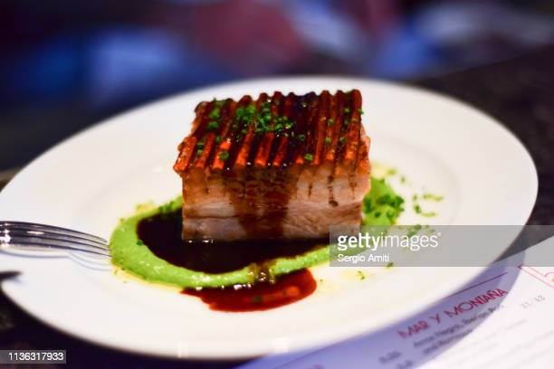 Pork belly with mojo verde