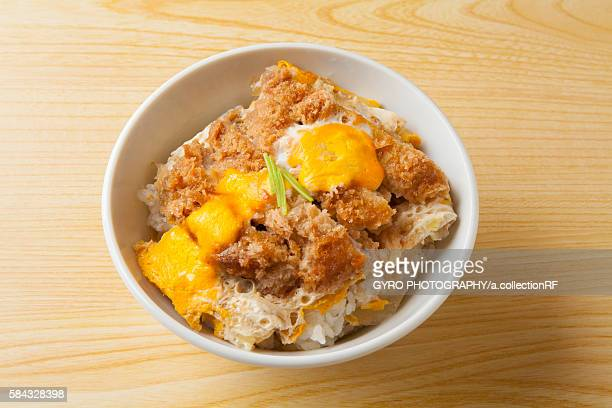 Pork cutlet bowl