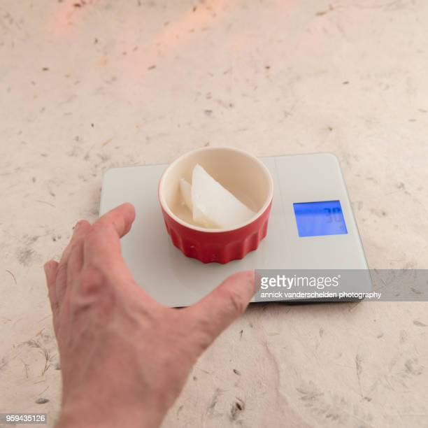 weighing gram pork lard tare weight