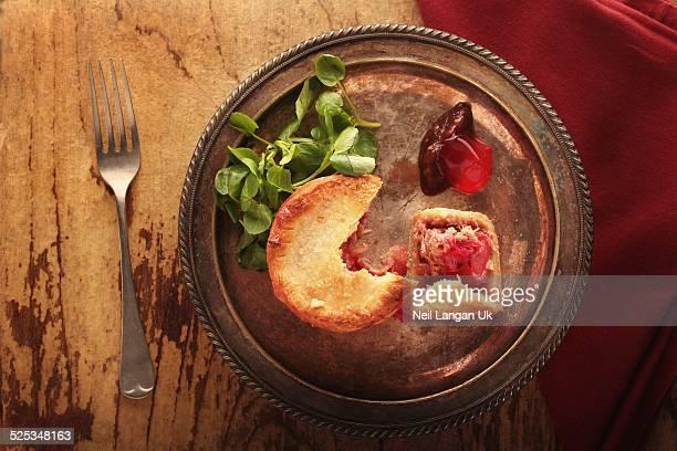 pork rhubarb pie
