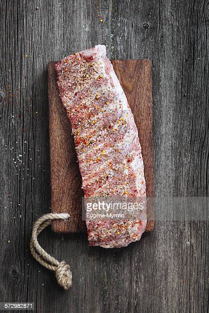 pork ribs - sparerib stock photos and pictures