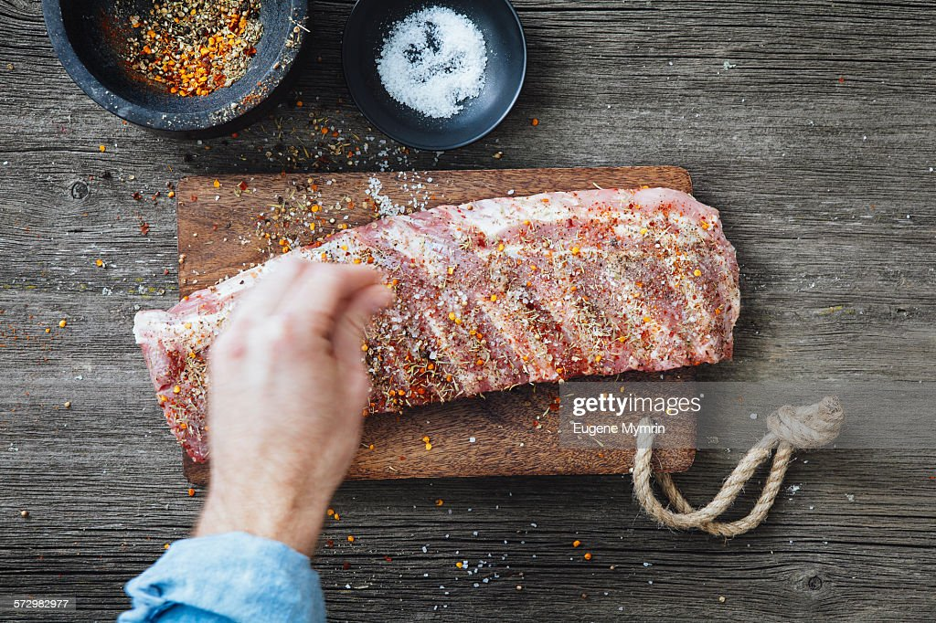 Pork ribs : Foto de stock