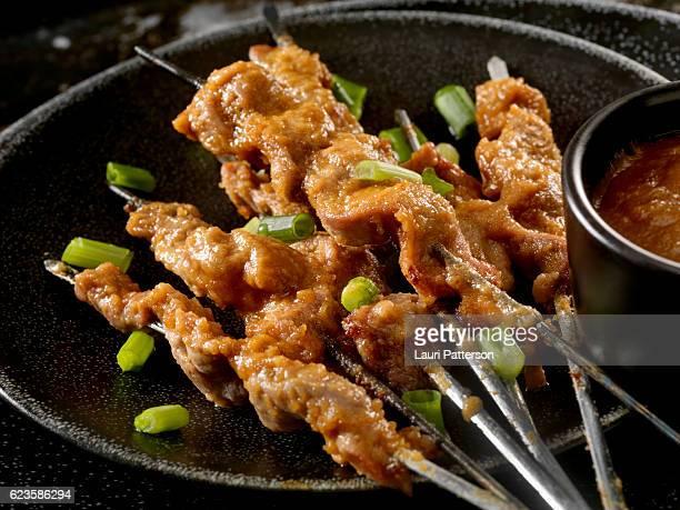 Porc Sauce Satay et Sauce aux cacahuètes