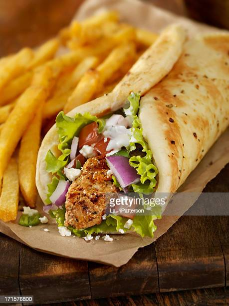 Pork Souvlaki Wrap
