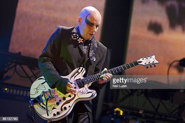 Porl Thompson of The Cure performs at the O2 Arena on February 26 2009 in London England