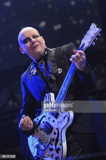 Porl Thompson of The Cure performs during the NME Awards Big Gig at the O2 Arena on February 26 2009 in London England