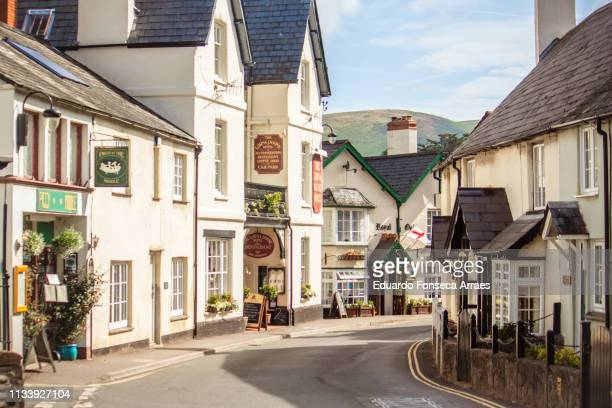 porlock - somerset england stock pictures, royalty-free photos & images