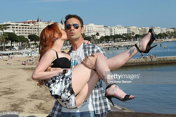 Porn Actor Rocco Siffredi attends the 'The Dorcel Girls' photocall at Hotel Majestic Beach on April 5 2011 in Cannes France