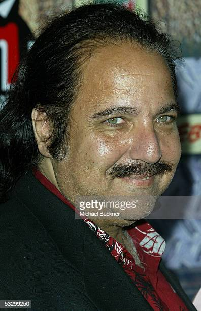 Porn and Reality TV star Ron Jeremy arrives at the Gphoria Awards at the Los Angeles Center Studios on July 27 2005 in Los Angeles California