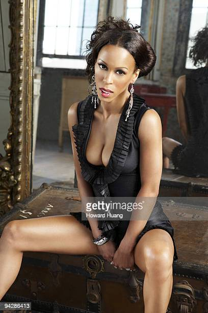 Porn Star and Rapper Heather Hunter is photographed for Black Men Magazine