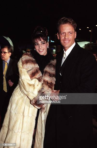 Porn star Rocco Siffredi and wife Rosa in Paris France on February 06 1997