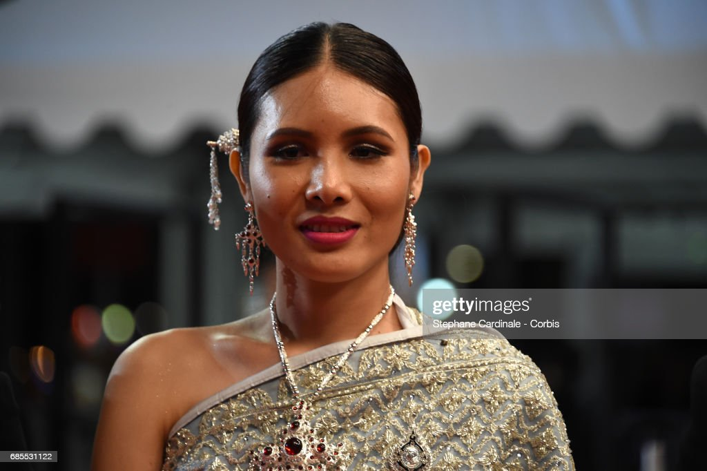 Pornchanok Mabklang attends the 'A Prayer Before Dawn' premiere during the 70th annual Cannes Film Festival at Palais des Festivals on May 19, 2017 in Cannes, France.