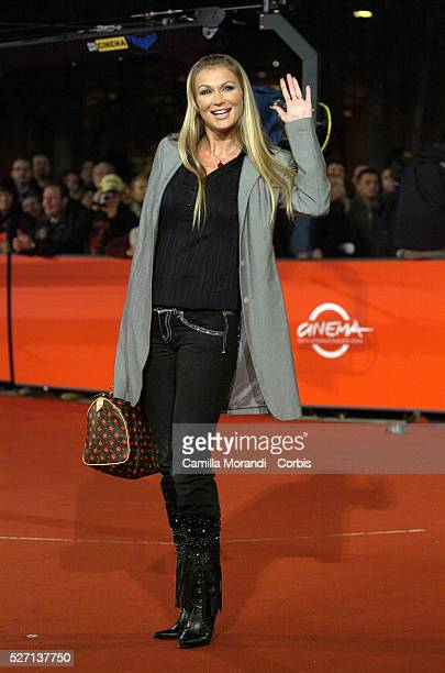 Pornstar Eva Henger attends the premiere of And The Spring Comes during the 2nd annual Rome Film Festival
