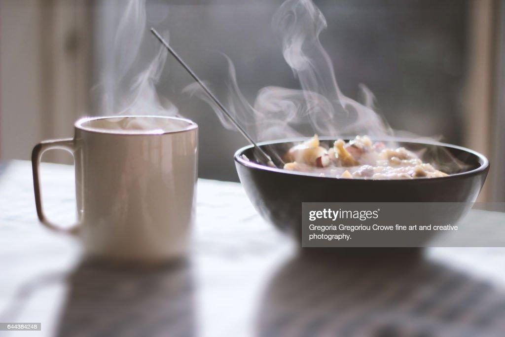 Porridge Breakfast : Stock Photo