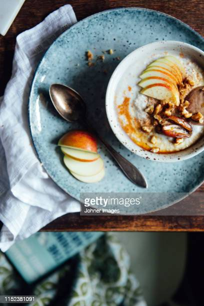 porridge - buckwheat stock pictures, royalty-free photos & images