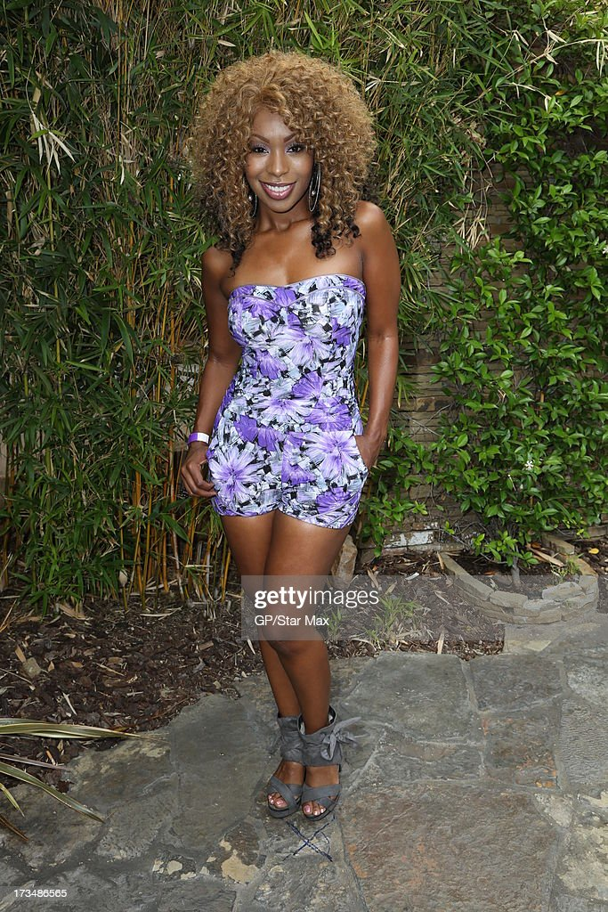 Porscha Coleman as seen on July 14, 2013 in Los Angeles, California.