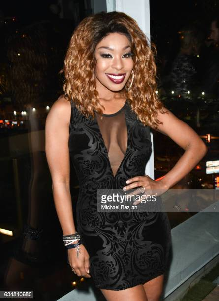 Porscha Coleman at Primary Wave Hosts Their 11th Annual Pre-Grammy In Partnership With Smirnoff Vodka at The London West Hollywood on February 11,...