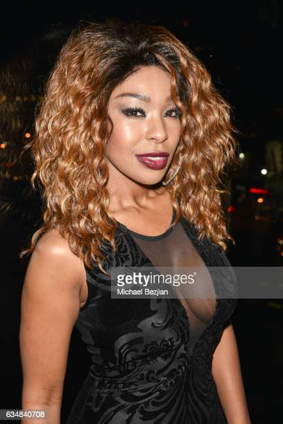 Porscha Coleman at Primary Wave Hosts Their 11th Annual PreGrammy In Partnership With Smirnoff Vodka at The London West Hollywood on February 11 2017...