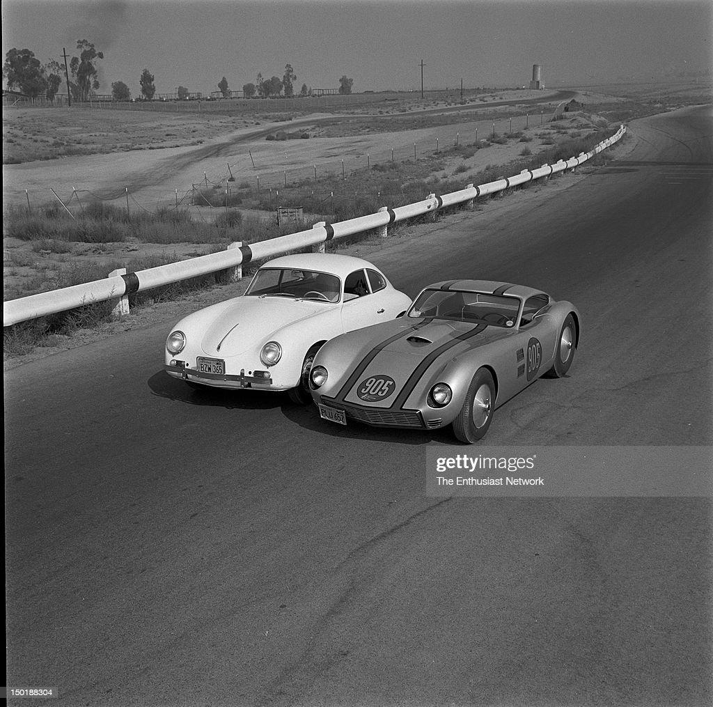 1959 Porsche 1600 - Kellison J-4 Gran Turismo Coupe : News Photo