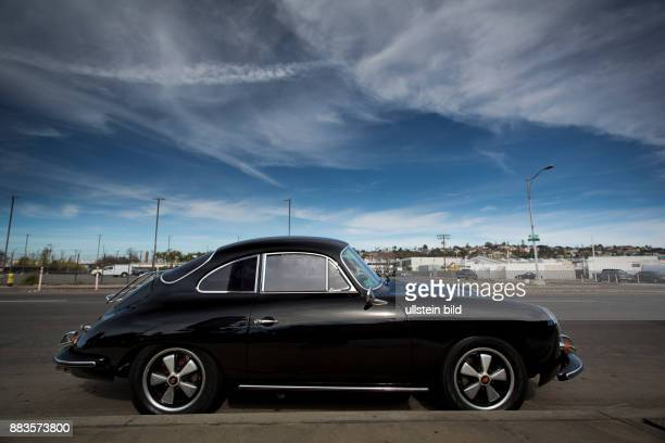 Porsche 356 C from the early 1960s in San Diego
