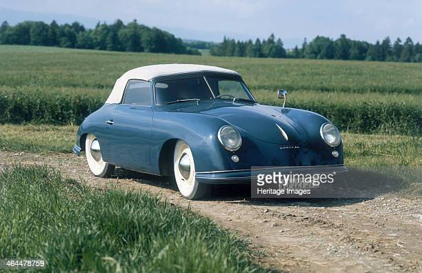 #pha.000576 Photo PORSCHE 356 1952 ARTISTIC PICTURE Auto Classic Car