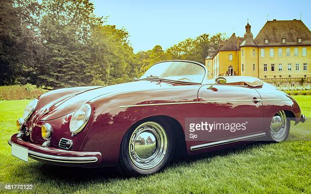 Porsche 356 Speedster classic sports car
