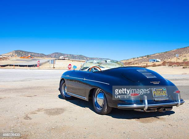 porsche 356 speedster - porsche 356 stock photos and pictures